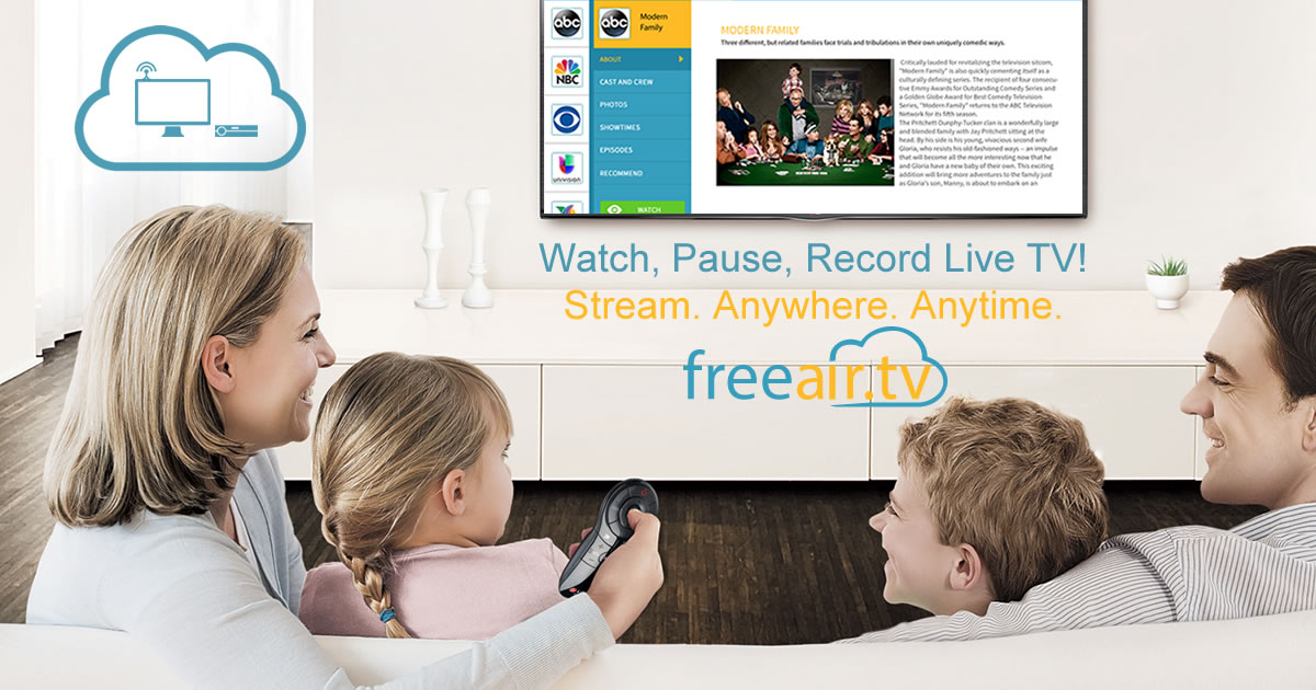 Watch and Record Live TV anywhere and anytime with FreeAir tv
